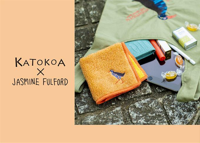 KATOKOA × JASMINE  FULFORD